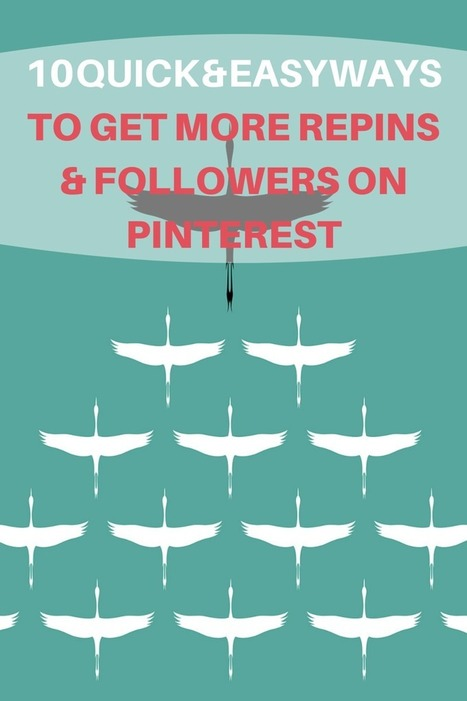 Quick & Easy Ways to Get More Repins & Followers on Pinterest   Sammi Sunshine   Scoop.it