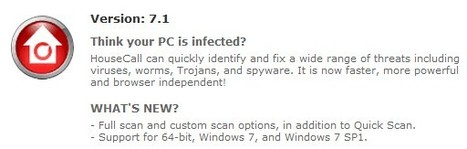 HouseCall - Free Online Virus Scan - Trend Micro USA | ICT Security Tools | Scoop.it