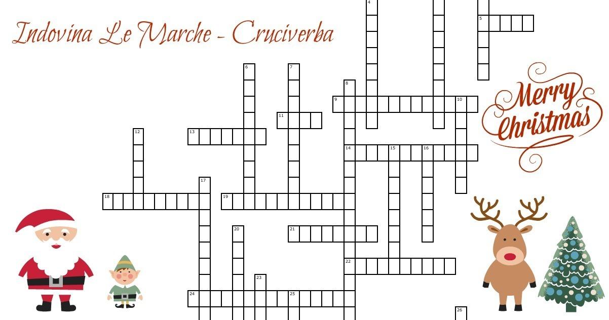 Indovina le marche un difficile cruciverba per for Crucipuzzle quaresima