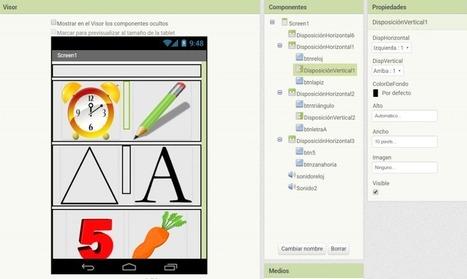 Crea una app para tu aula: reconociendo objetos con App Inventor. | Recursos educativos para primaria | Scoop.it
