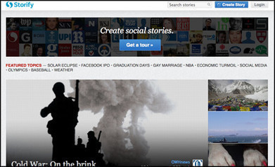A catch-up with Storify: The past, present and future | Online Journalism Features | Journalism.co.uk | Multimedia News Lab | Scoop.it