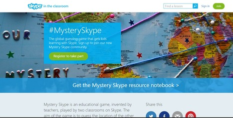 #MysterySkype | Handy Online Tools for Schools | Scoop.it