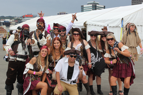 Photos: Wellington Sevens costumes - 3News NZ | Wellington Sevens | Scoop.it
