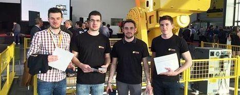 Des étudiants yonnais sur le podium des olympiades de robotique industrielle - La Roche-sur-Yon Agglomération | Retrouvez l'actualité du campus yonnais dans la presse | Scoop.it