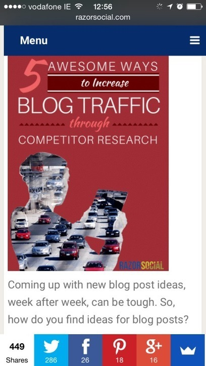 How to Increase Website Traffic From Social Media | Social Media | Scoop.it