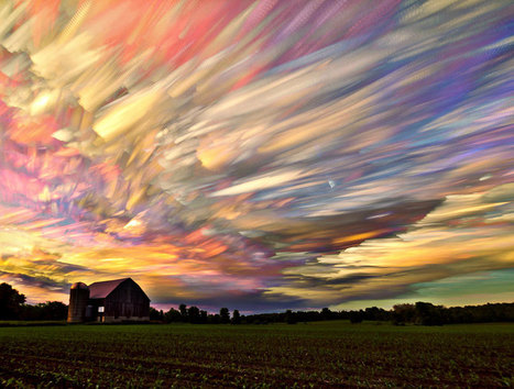 Mind-Blowing Smeared Sky Photography by Matt Molloy | it's about time | Scoop.it