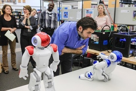 Coming Soon to the Library: Humanoid Robots - Wall Street Journal | The Information Professional | Scoop.it