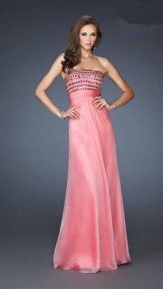 La Femme 18379 Sparkly Top Chiffon Long Prom Dress [la femme 18379 sherbert long dress] - $159.00 : Cheap Prom Dresses 2014,Prom Dresses For Cheap | Prom dress | Scoop.it