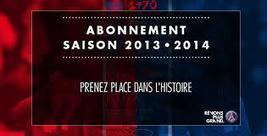 Le PSG lance sa campagne d'abonnement 2013-2014   Coté Vestiaire - Blog sur le Sport Business   Scoop.it