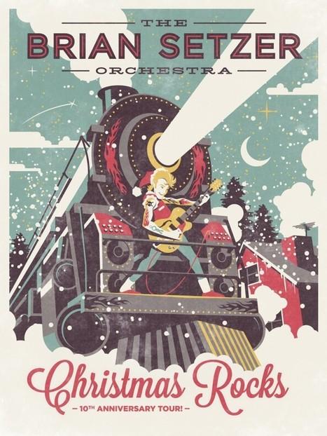 The Brian Setzer Orchestra : Christmas Rocks | DispatchBox | Scoop.it