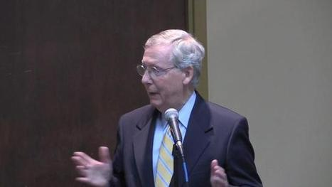Profile of Mitch McConnell: I'll set agenda, look after Kentucky | Kentucky Senate Race | Scoop.it