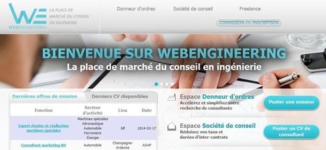 Web Engineering: La place de marché du conseil en ingénierie | LES MARKETPLACES en BtoB | Scoop.it