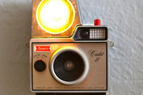 Vintage Camera Night Lights Are The Most Awesome Way To Use Old ... - Huffington Post | Creative Cables and Lighting Design | Scoop.it