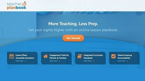 New Lesson Plan Book Web Application Hits the EdTech Scene | Educational Technology Applications | Scoop.it