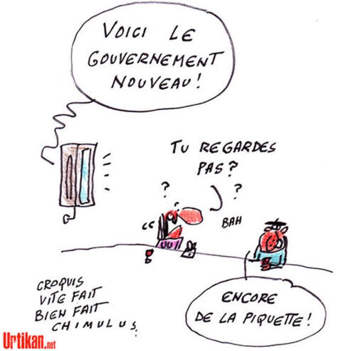 Un (nouveau) gouvernement Valls aujourd'hui | Baie d'humour | Scoop.it