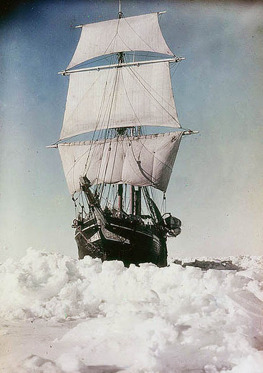 Colour photographs of Shackleton's Antarctica, 1915   Archaeology News   Scoop.it
