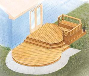 Design Ideas for Your Small Deck | Wizard Home Improvements Blog | Wizard Home Improvements | Scoop.it