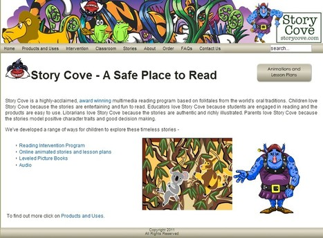 Story Cove - A Safe Place to Read | AdLit | Scoop.it