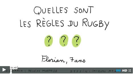 Quelles sont les règles du rugby ? - 1jour1actu.com - L'actualité à hauteur d'enfants ! | POURQUOI PAS... EN FRANÇAIS ? | Scoop.it