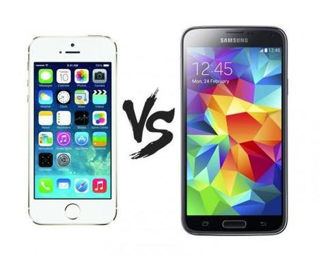 Samsung Galaxy S5 vs Apple iPhone 5s - which one is for you? - Expert Reviews | Wearable Technologies | Scoop.it