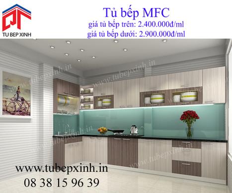 tủ bếp MFC, tu bep MFC, tủ bếp Acrylic, tu bep Acrylic, tủ bếp xinh, phụ kiện tủ bếp | TỦ BẾP ACRYLIC - GIÁ TỦ BẾP ACRYLIC | Scoop.it