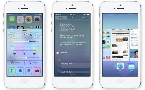 Why iOS 7 Is A Masterpiece of Design - Cult of Mac | UXDesign – Making Sense of Chaos | Scoop.it