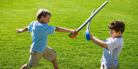 Matt Heath: Play fights a golden part of childhood - Life & Style - NZ Herald News | PHYSED | Scoop.it