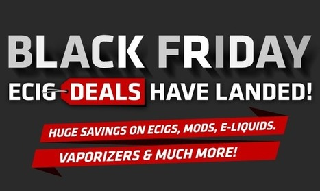 Black Friday Vape Sales 2016 Best Ecig Deals Of The Year | Topics We Found Useful & Interesting | Scoop.it