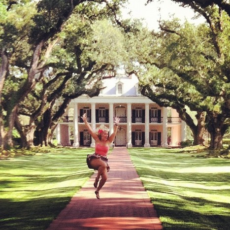 Sue Moe as Austin Powers! | Oak Alley Plantation: Things to see! | Scoop.it