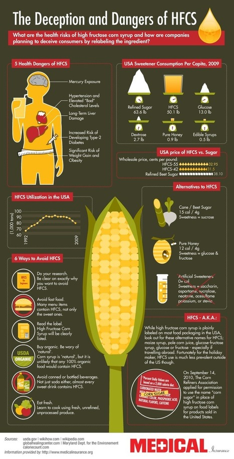 The Dangers of High Fructose Corn Syrup Infographic | Fitness and Weight Loss Made Easy | Scoop.it