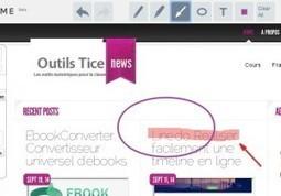 Coment.me Capture et annotations d'ecran | Outil web 2.0 | Scoop.it