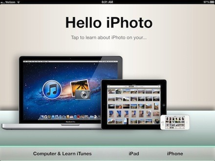 Hello iPhoto for iPad & iPhone is an amazing new way to learn | TUAW | How to Use an iPhone Well | Scoop.it