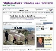 """The screenshots prove it: New York Times altered headline to remove words """"Israeli-occupied"""" 