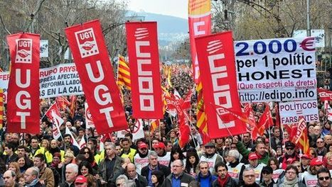 Thousands protest Spain's new labor reforms - Arab News | Human Rights and the Will to be free | Scoop.it