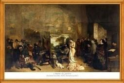 Musée d'Orsay: Visite de l'Atelier de Gustave Courbet en réalité augmentée | Clic France | Scoop.it