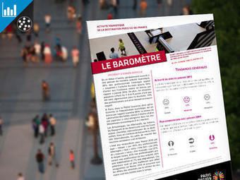 Baromètre de l'activité touristique - Portail des professionnels du tourisme Paris Île-de-France - Septembre 2016 -   L'actualité du tourisme en Val d'Oise   Scoop.it