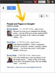 Why Google Social Search Means You'll Probably Want a Google+ Page | GooglePlus Expertise | Scoop.it