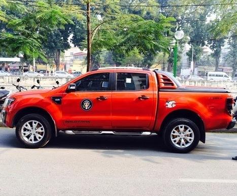 Xe bán tải Pickup Ford Ranger nắp canopy thấp SCR - Nắp thùng Canopy xe bán tải 2014   Tổng hợp   Scoop.it