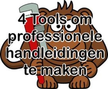 4 Gratis tools om professioneel ogende handleidingen te maken | Edu-Curator | Scoop.it