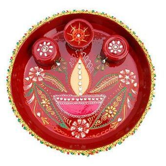 Diwali Pooja Thali Decoration Ideas | Latest Handicraft News | Scoop.it