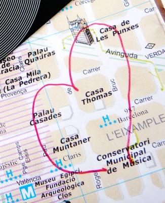 """1er voyage Expérimental à Barcelone : """"Emmener une ligne en promenade"""".   Barcelone EXpérimental   Scoop.it"""