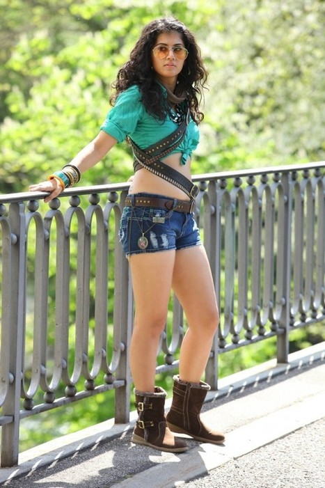 Tapsee Pannu in Jeans Short and Shirt n High Boots in Shadow movie Still Pictures, Actress, Tollywood, Western Dresses | Indian Fashion Updates | Scoop.it