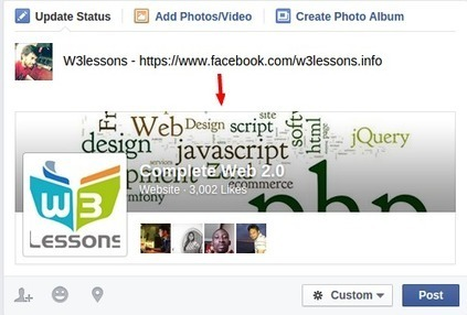 Facebook Url Expander with jQuery Ajax and PHP | W3lessons | Scoop.it