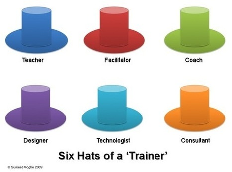 The Learning Generalist: The Six Hats of a Trainer | Learning Happens Everywhere! | Scoop.it