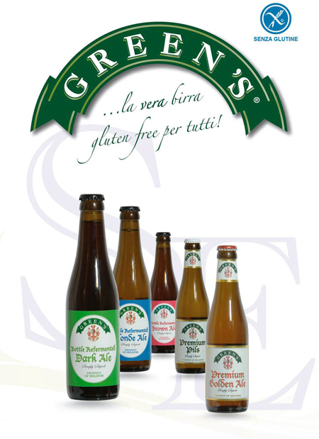 BIRRA GREENS LA VERA BIRRA SENZA GLUTINE | Marketing & Vendite Alimenti Senza Glutine | Scoop.it