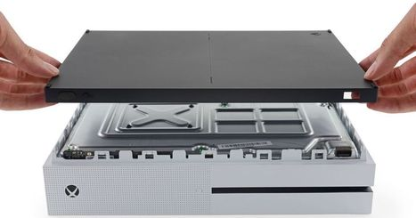 Xbox One S teardown reveals a simpler, speedier design | Xbox - CompuSpace | Scoop.it