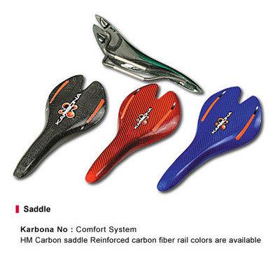 Karbona Comfort System saddle [COMFORTSYSTEM] - £46.00 : Karbona Bikes, Performance carbon fiber bikes | Carbon fiber bikes | Scoop.it