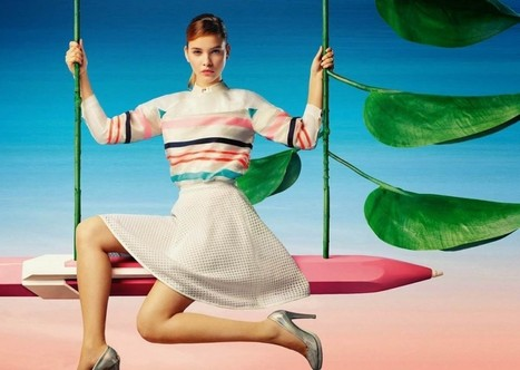 Lily China Spring/Summer 2014 Campaign starring Barbara Palvin - My Face Hunter | FASHION LILY SS14 - BARBARA PALVIN CAMPAIGN BY FRED & FARID SHANGHAI | Scoop.it