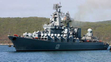 Russia's 'carrier-killer' Moskva enters Mediterranean #Syria | Unthinking respect for authority is the greatest enemy of truth. | Scoop.it