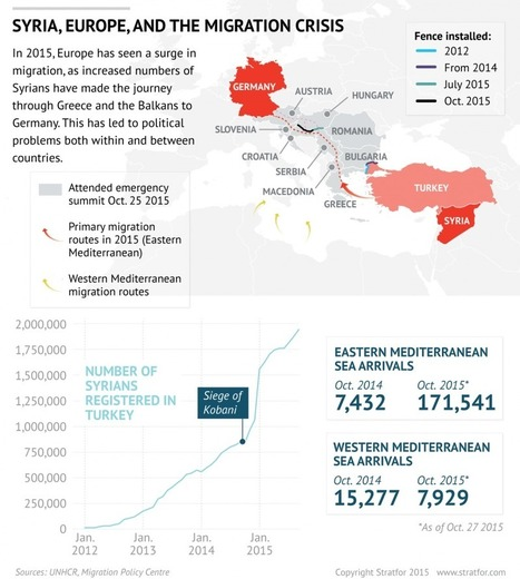 Charting European Immigration | Convergence -- Global Illicit Networks and National Security | Scoop.it